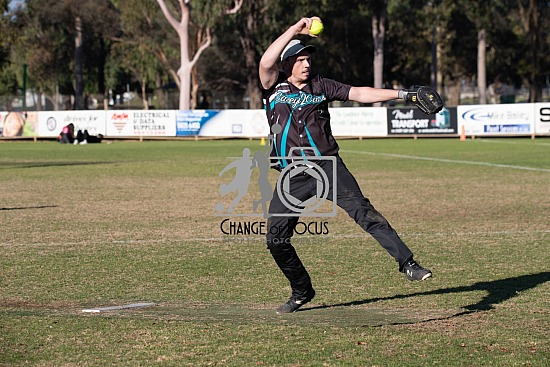 Softball Victoria Masters Tournament Action