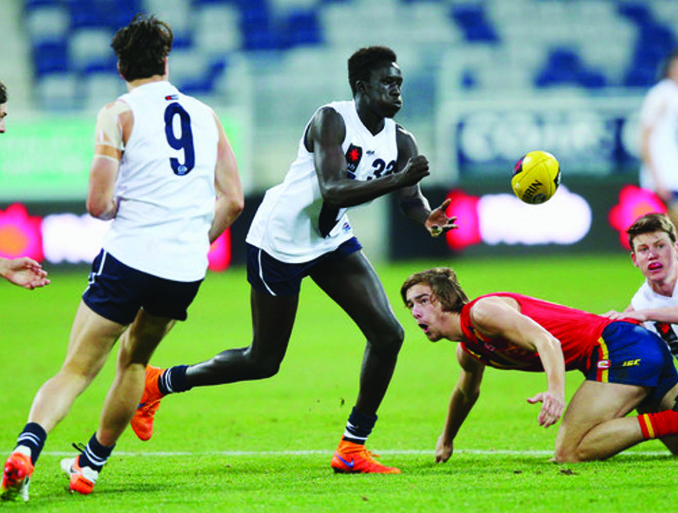 Gun multicultural prospects join AFL Academy