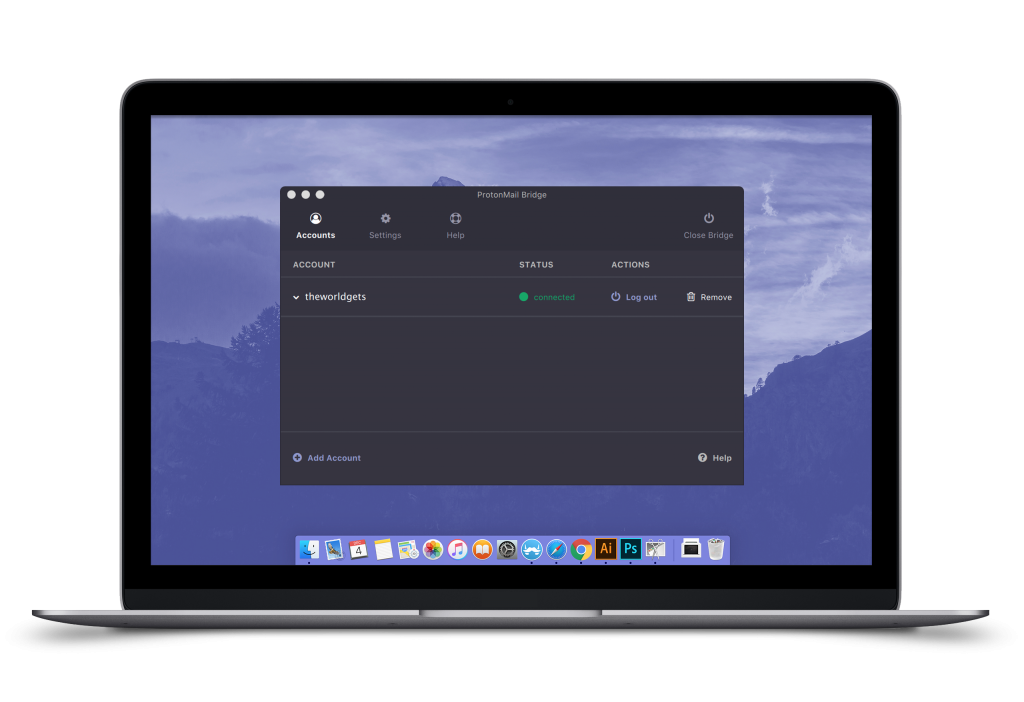 ProtonMail Bridge for MacOS