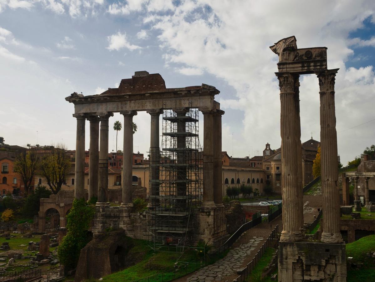 20171126 Roman Scaffolding