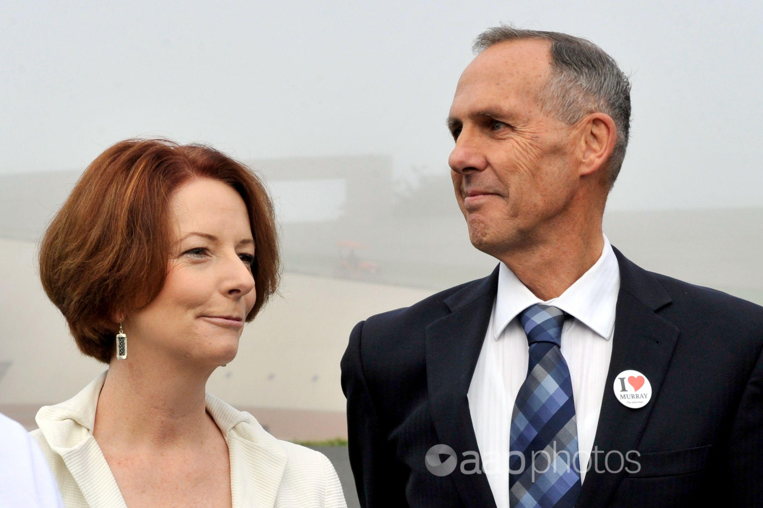 Julia Gillard and Bob Brown.