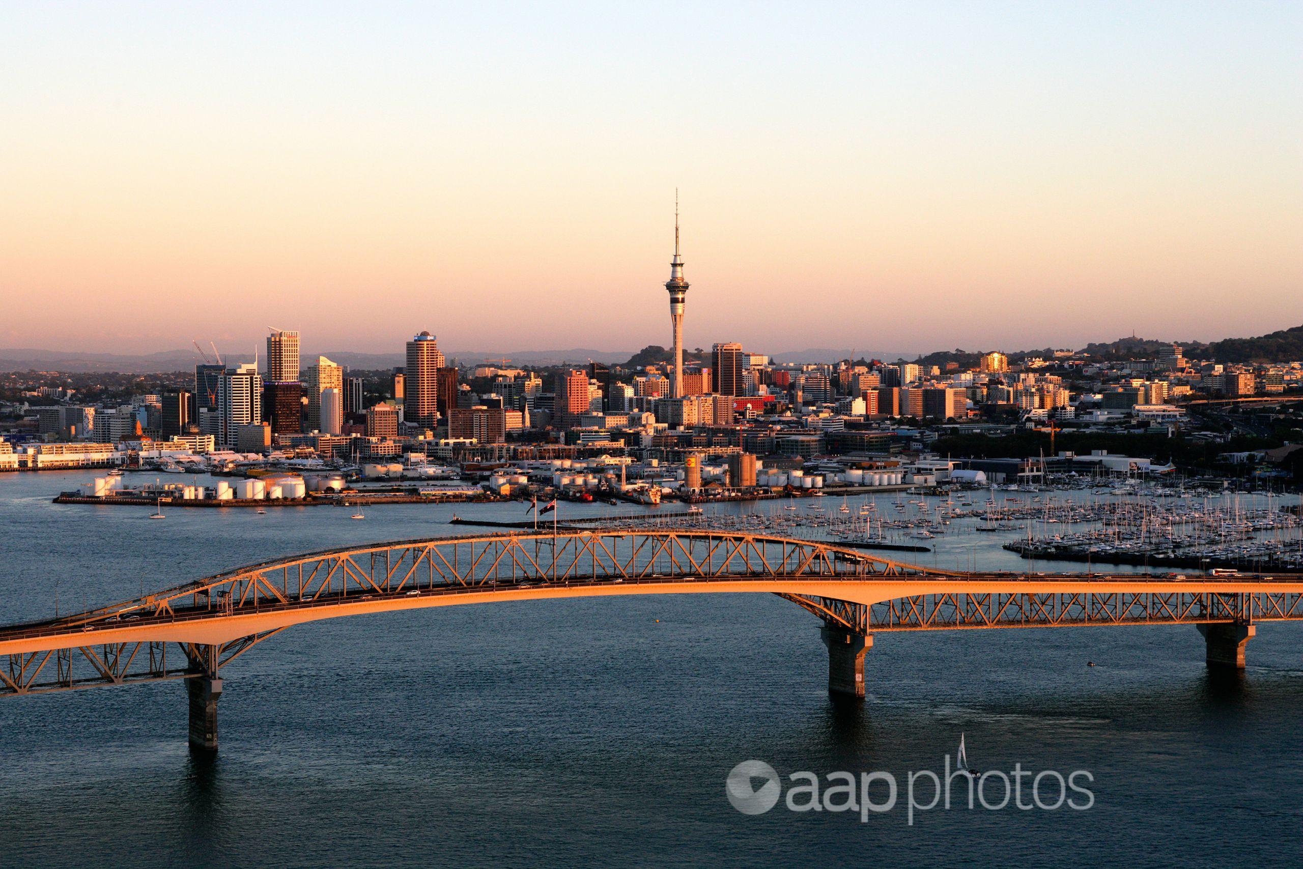 Auckland's CBD.