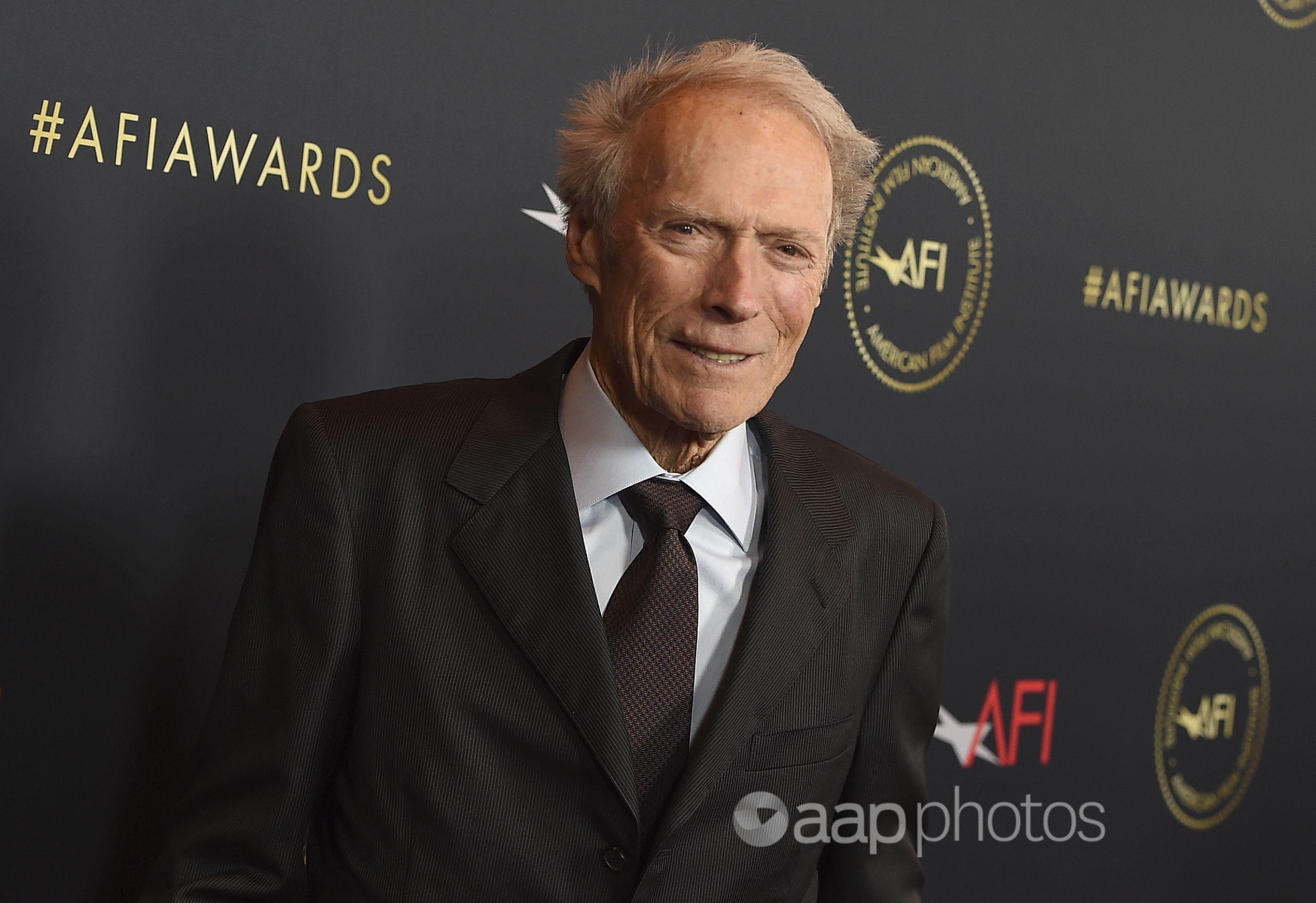 Hollywood veteran Clint Eastwood