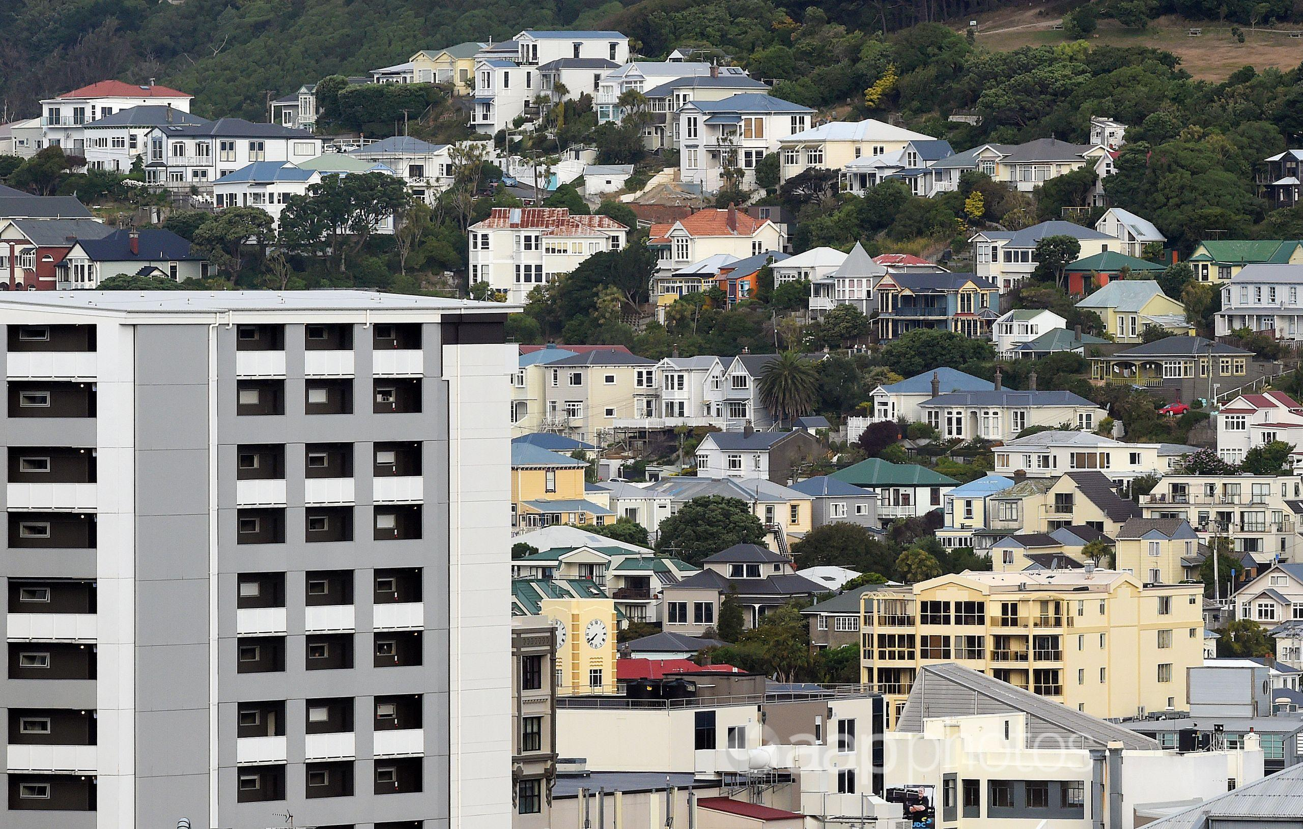 Housing in central Wellington