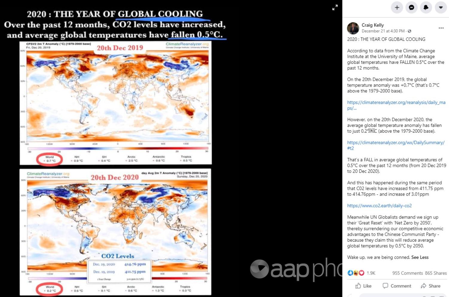 climate change data maps