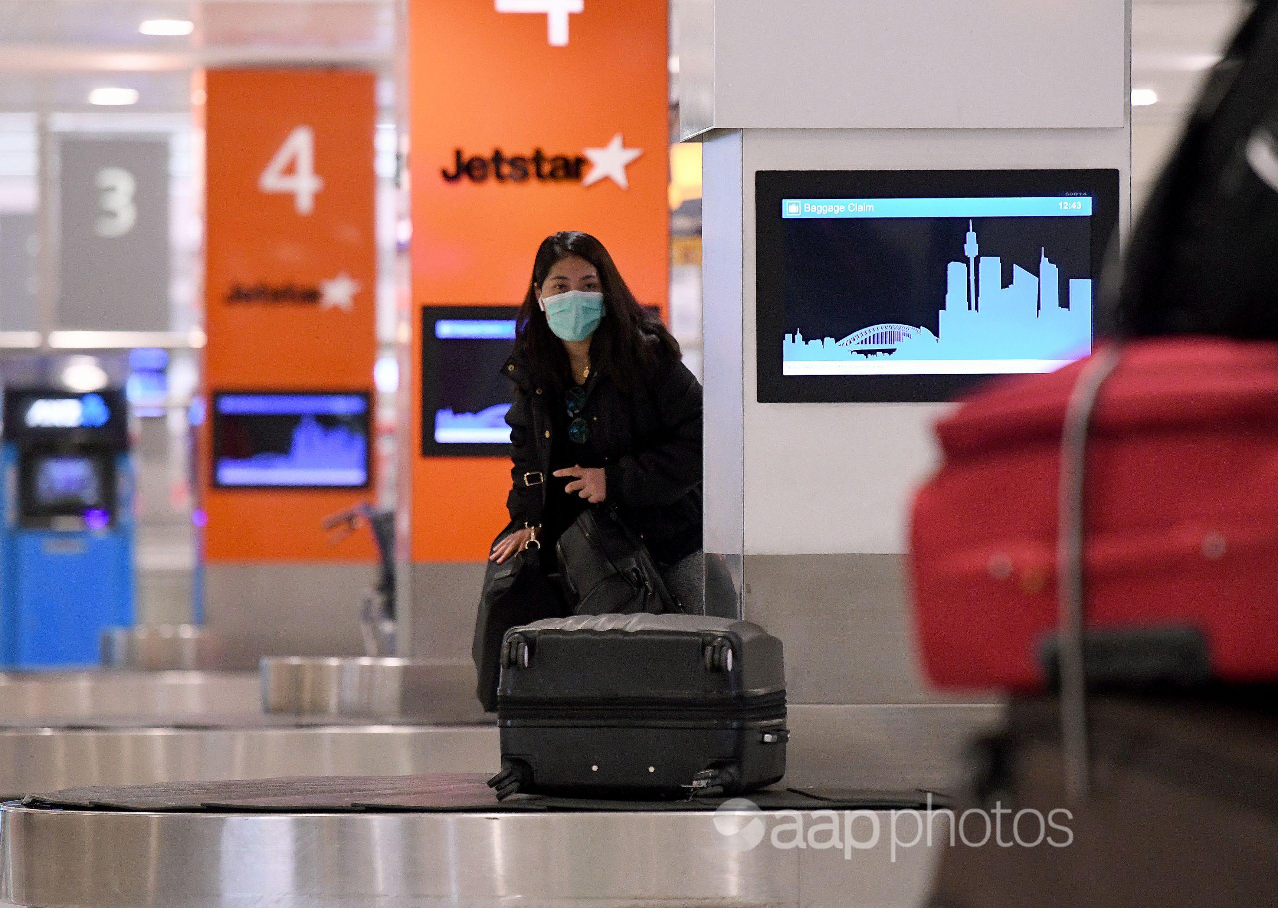 A Jetstar passenger