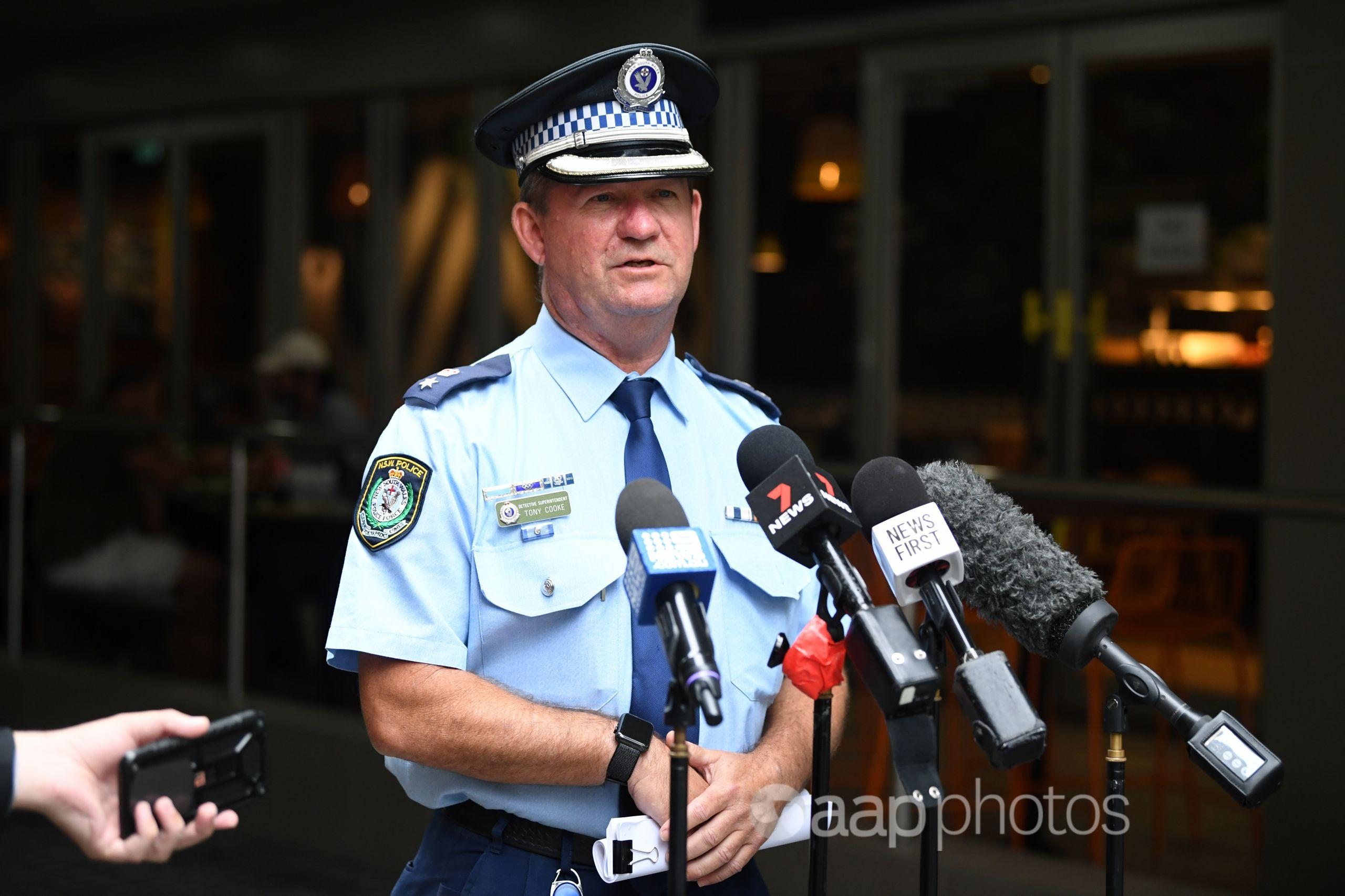 NSW Police Assistant Commissioner Tony Cooke