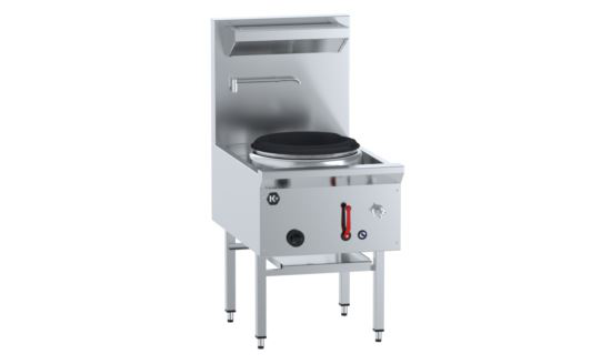 B+S K+ UFWWK-1 Single Hole Waterless Wok Table