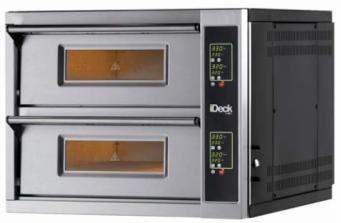 Moretti Forni iDeck iDD72.72 Double Deck Electric Pizza Oven