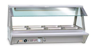 Roband TR22 Tray Race to suit 4 Module Food Bars - Double Row