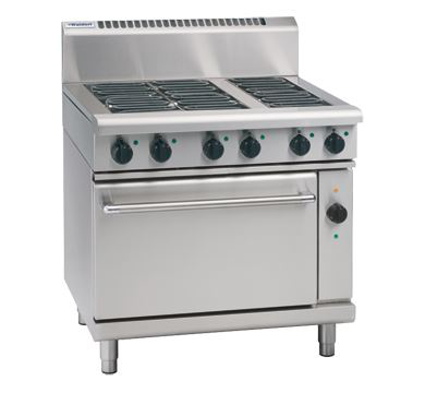 Waldorf 800 Series 900mm Electric Range Convection Oven Low Back Version