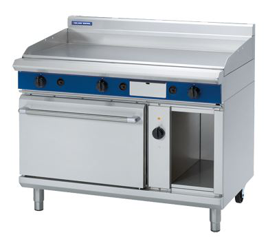 Blue Seal Evolution Series 1200mm Gas Griddle Electric Convection Oven Range