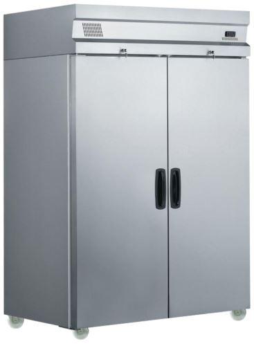 Inomak UFI1140 Upright Two Door Refrigerator