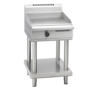 Waldorf 800 Series 600mm Electric Griddle - Leg Stand