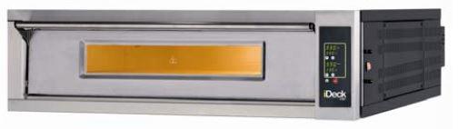 Moretti Electric Single Deck Pizza Oven  6 x 280mm Pizza Capacity Electronic Controls