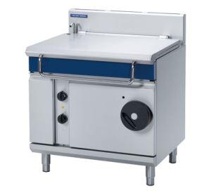Blue Seal Evolution Series 900mm Gas Tilting Bratt Pan 80 litre capacity
