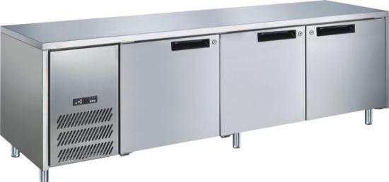 Advantage Platinum 3 Solid Door Slimline Underbar Fridge