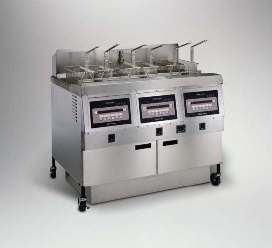 Henny Penny OFE323/8000 Split/Split/Split Electric Split/Split/Split Double Well Open Fryer With 8000 Computron Controls