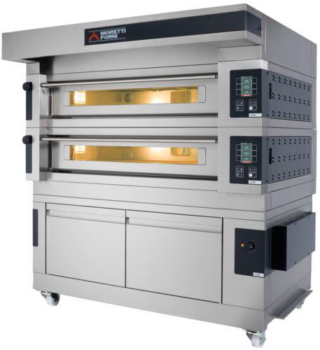 Moretti Forni COMP S100E/1 Hi-Tech Electric Single Deck Oven with Refractory Stone Deck & Prover