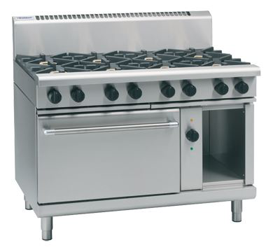Waldorf 800 Series 1200mm Gas Range Electric Convection Oven