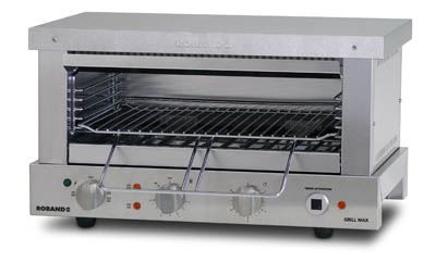 Roband GMW815E 8 Slice Grill Max Wide-Mouth Toaster