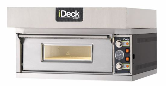 Moretti Deck Oven Hood Stainless Steel
