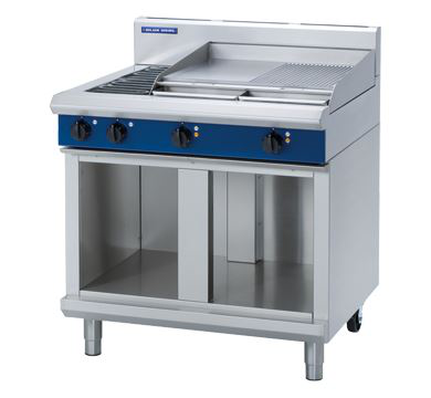 Blue Seal Evolution Series 900mm Electric Cooktop  Cabinet Base