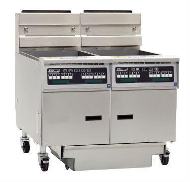 Pitco SG18S-C/FD/FF Solstice Series Fryer Bank