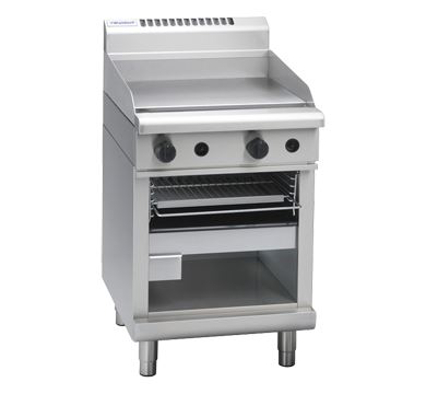 Waldorf 800 Series 600mm Gas Griddle Toaster