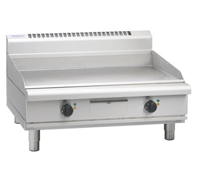 Waldorf 800 Series 900mm Electric Griddle - Bench Model