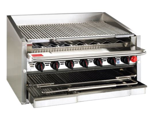 Magikitch'n CM-636-SMB Coal Grill Charbroiler
