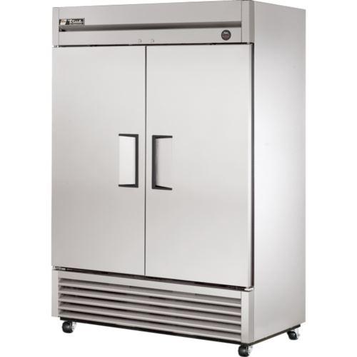 True T-49-HC-LD Reach-In Series - 2 x Solid Door Upright Refrigerator