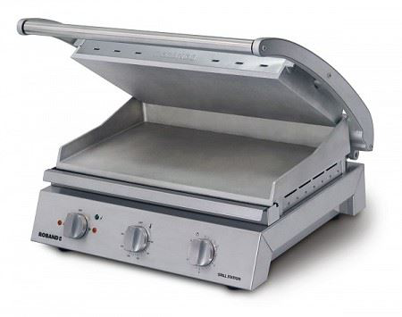 Roband GSA815S 8 Slice Smooth Grill Station