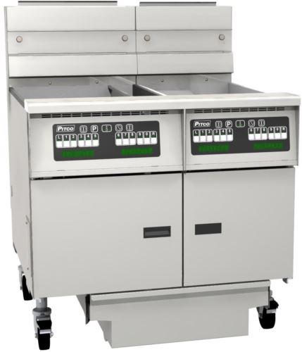 Pitco SG18/SG14-C/FD/FF Solstice Series Fryer Bank