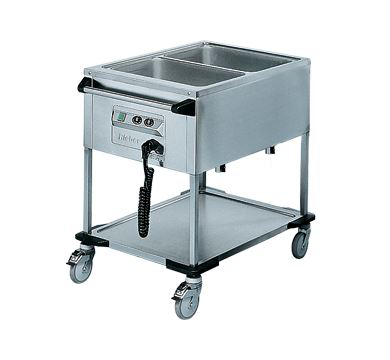 Rieber 2 x 1/1 GN Delivery Trolley