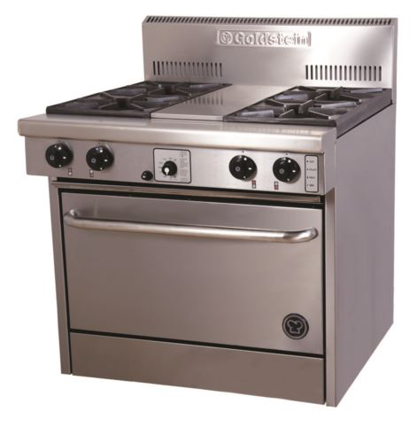 Goldstein PF428E3 800 Series 28 inch Electric Oven - 4 Burner