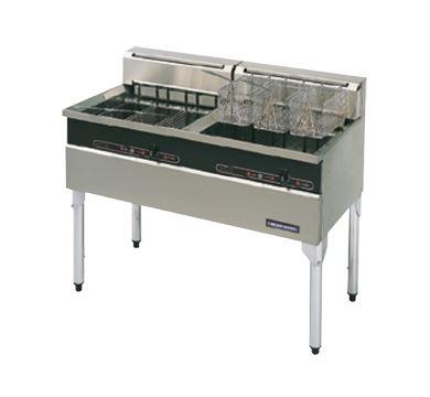 Blue Seal Evolution Series E604 Twin Pan Electric Fryer