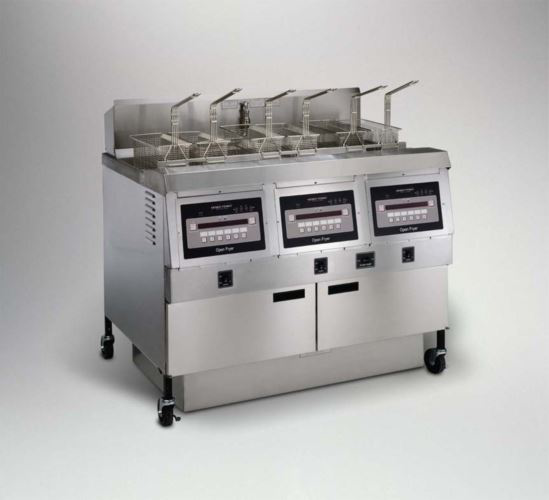 Henny Penny OFE323/1000 Full Electric Full Well Triple Well Open Fryer With 1000 Computron Controls