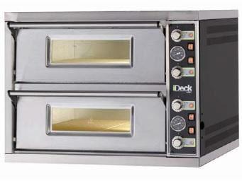 Moretti Forni iDeck PD72.72 Double Deck Electric Pizza Oven