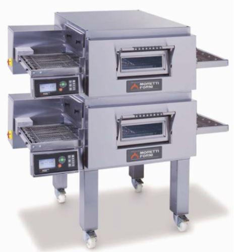 Moretti Forni Model T75G Double Level Gas Conveyor Oven