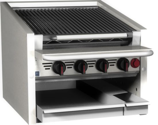 Magikitch'n CM-624-SMB Coal Grill Charbroiler