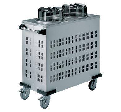 Rieber 44kgs Mobile Tubular Dispenser (Round) - No Heating Safety push