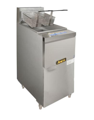 Anets 14GS.CS GoldenFry Gas Open Pot Deep Fryer