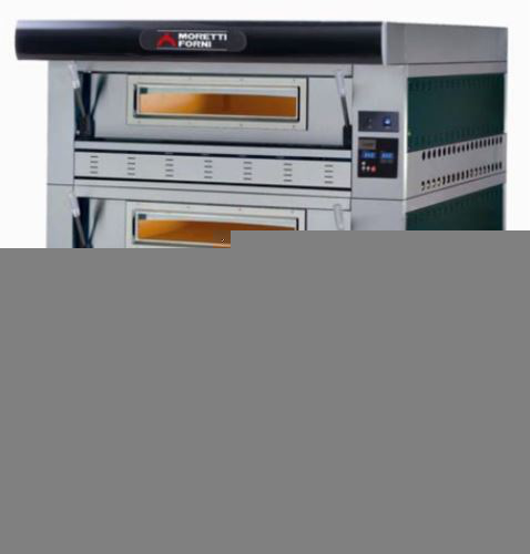 Serie P110G Hi-Tech Gas Double Deck Oven ,1470 W x 1609 D x 1930 H, 10 amp power required