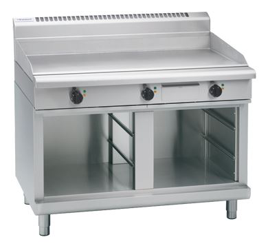 Waldorf 800 Series 1200mm Electric Griddle - Cabinet Base