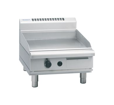 Waldorf 800 Series 600mm Gas Griddle - Bench Model