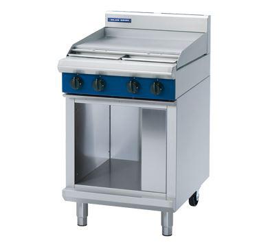 Blue Seal Evolution Series 600mm Gas Cooktop - Cabinet Base