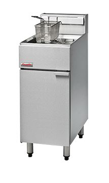 FastFri FF18 400mm Single Pan Gas Deep Fryer