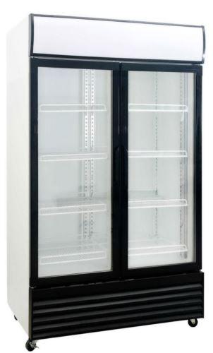 Saltas DFS1000 Double Door Display Fridge