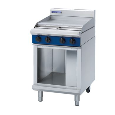 Blue Seal Evolution Series 600mm Electric Cooktop  Cabinet Base